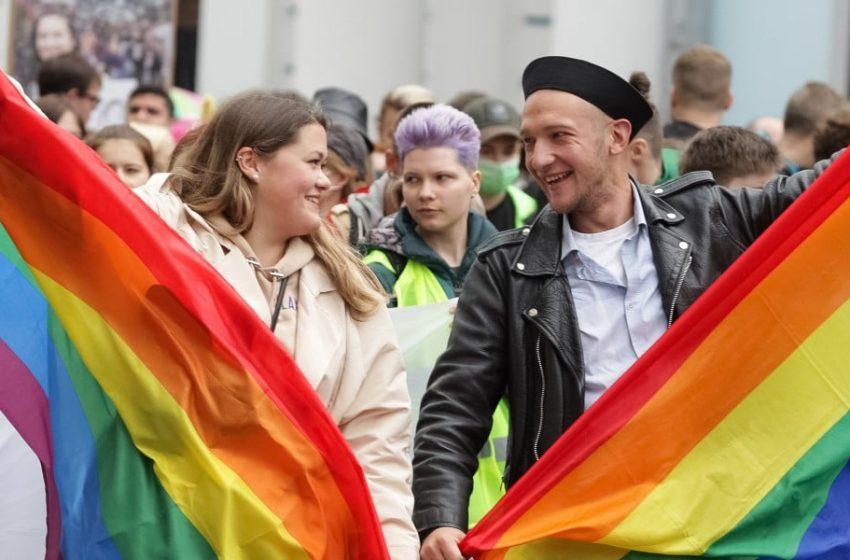 Binlerce Ukraynalı Pride'da Bir Araya Geldi